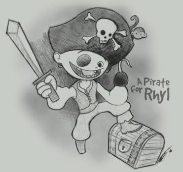 Pirate for Rhyl by reed682
