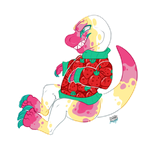 Number one Fruit dino on the block! by IMonsterDrool