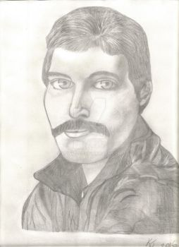 Freddie Mercury by kjwills