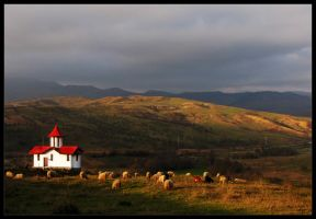 the red church by Safiry