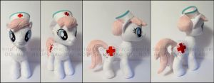 Plushie: Nurse RedHeart - My Little Pony: FiM by Serenity-Sama