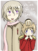 APH- Russia X Latvia by dragonicwolf