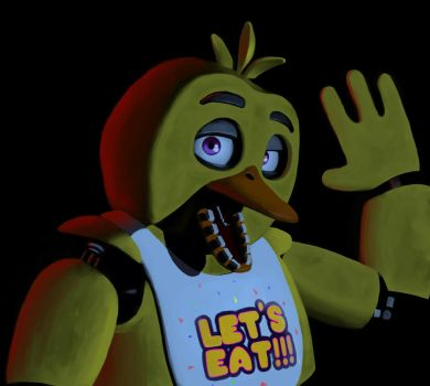 Five Nights at Freddy's - Chica by MatiZ1994