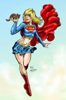 Supergirl. by RamonVillalobos