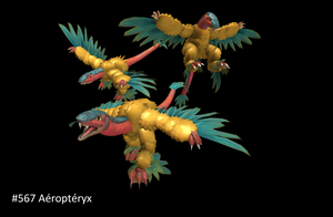 Pokedex December 08 Favorite Flying Type Archeops by ZeWqt