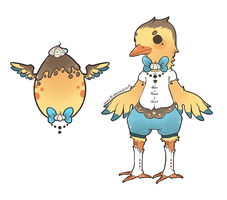 Winged Choux Cheeb -- HATCHED by Hardrockangel-Adopts