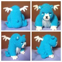 Legend of Zelda - Moosh (pattern) by CrochetGamer