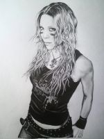 Angela Gossow by ellieQueeN