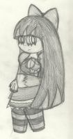 The Doodle of Stocking by InFAMOUS-Toons