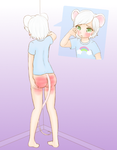 Koobi and Ollie #5 (Commission, Spanking Content) by Pastel-Hime