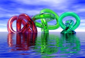 Water Torus Knots by apiannini