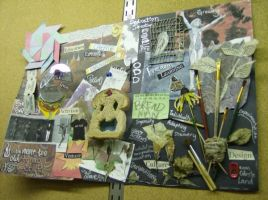 What art means to me collage by LilithVallin
