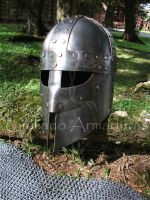 The Spartan Viking Helm by GiuArmours