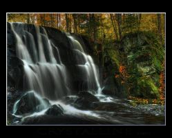 Rouse Falls HDR 3 by C-Photography