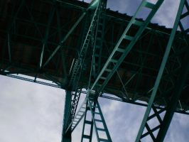Beneath The Ambassador Bridge by Pentacle5