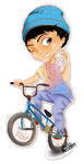 Cycling Boy Chibi by babyjepux