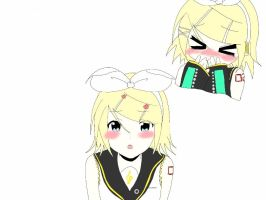 The Many Faces of Rinny WIP by Rin-the-orangemaster