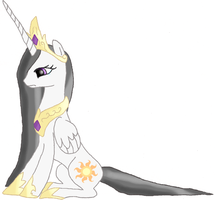 Princess Celestia... by GigaBowserNS