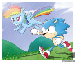 .:Beginning of Sonic Rainboom:. by The-Butcher-X
