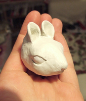 Handmade BJD RAW - Mouse head by daiin