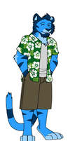 Luau Priest by Songficcer