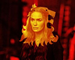 Game of Thrones. Cersei Lannister by StalkerAE