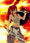 Erza Scarlet by Drago686