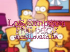 Los Simpson PNG pack. by JessiLovato