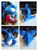 Shiny Nidoking plush! by LRK-Creations