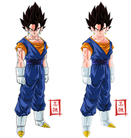 Vegetto Normal Pose Versions by SnaKou