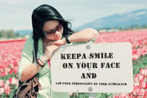Keep a Smile by M-Twins