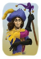 Clopin sketch by MadHatters-Wife