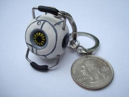Space Core Keychain by KatRaccoon