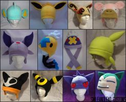 Updated Pokehats by SmileAndLead