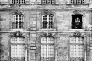 French Balcony by cahilus