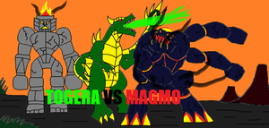 Togera vs Magmo by Sci-fiman2xxx