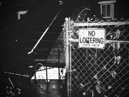 No Loitering by theworst24