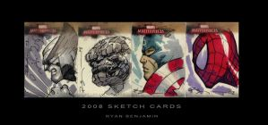 Marvel Cards by ryanbnjmn