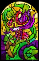Stained Glass Lulu by Pameloo