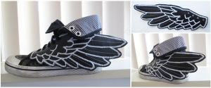 Shoe Wing Accessory by xXnijuuniXx