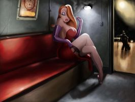 jessica rabbit wallpaper by tyramenendez