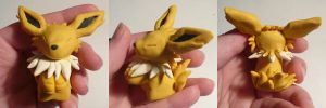 Jolteon Jizo by ChibiSilverWings