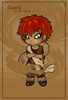 Gaara of the Sand by Kinky-chichi