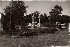 Graveyard. by miserableink