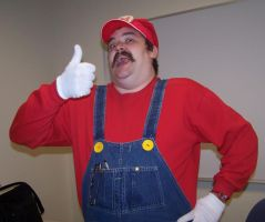 Mario Costume by venkman3000