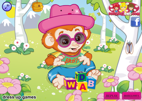 Baby Monkey - Dressup2h.com by willbeyou