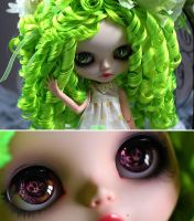 TuttY Fruity blythe custom by Cerisedolls