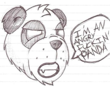 one angry panda... by made-in-87