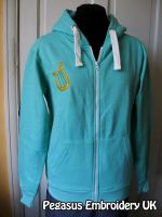 MLP Lyra Heartstrings Embroidered Hoodie by GothyBeans
