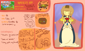 Ooo App: Princess of Treasures by SleepyLuma